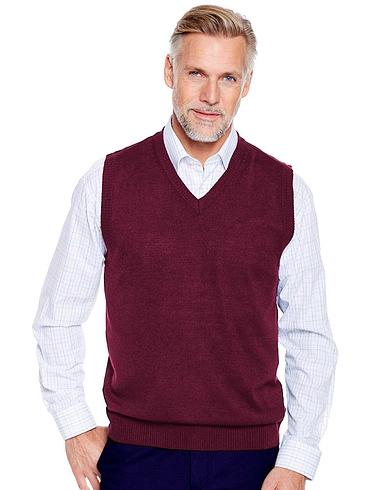Pegasus Soft Handle Fine Gauge Knitwear Slipover