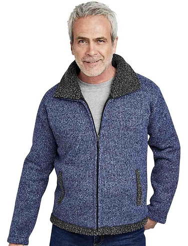 Pegasus Sherpa Lined Knitted Zipper