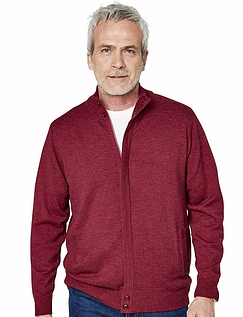 Pegasus Cashmere Like Knitted Zipper With Pockets