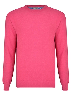 Peter Gribby Crew Neck Cotton Jumper