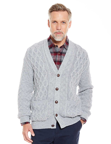 Aran Style Cardigan