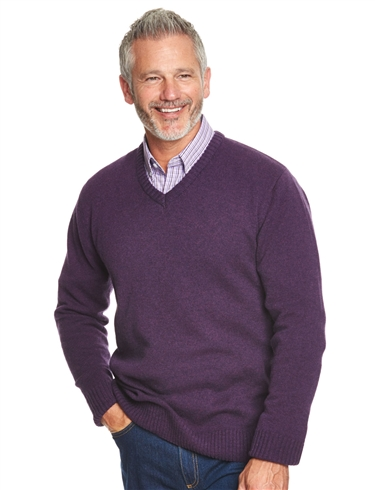 V-Neck Lambswool