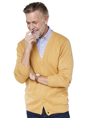 Fine Gauge Plain Cardigan