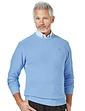 Pegasus Moss Stitch Crew Neck Sweater