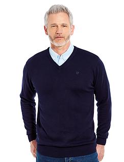 Pegasus 2 In 1 V Neck Sweater