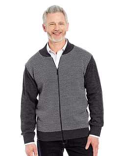 Woodville Zipper Cardigan