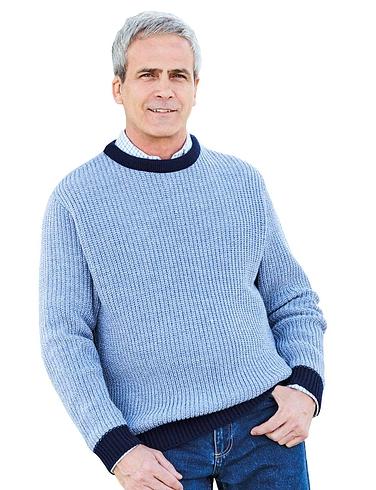 Pegasus Fishermans Rib Knit Sweater