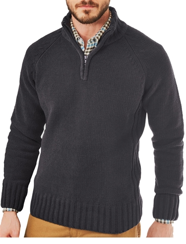 Half Zip Sweater