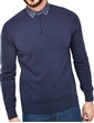 Check Collar Sweater