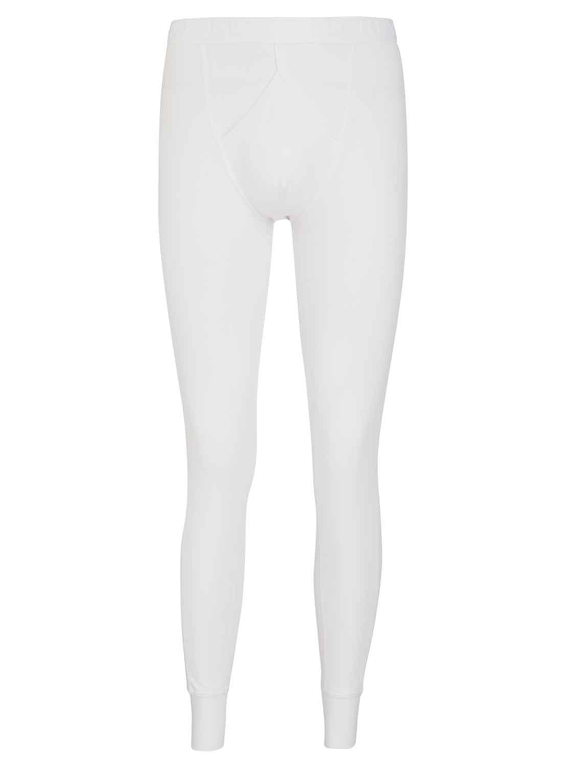 Jockey Thermal Y Front Long - White