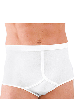 Pack of 3 Plain High Rise Briefs
