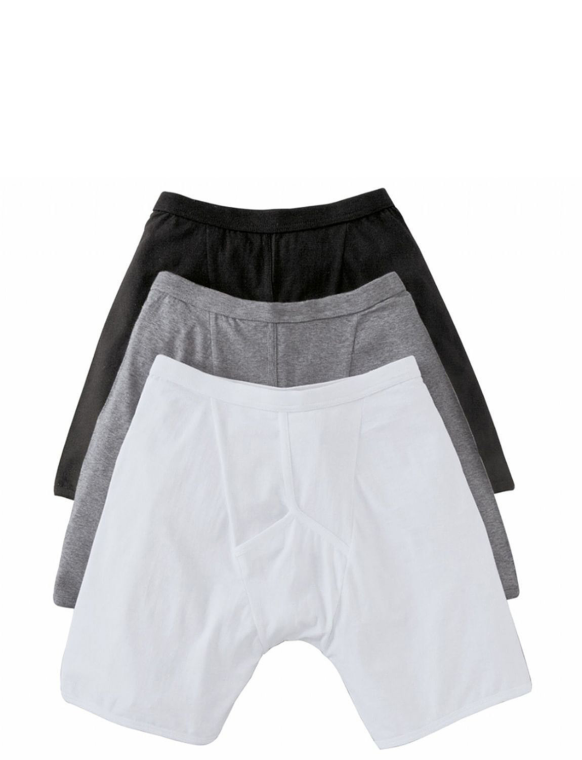 Pack of 3 Knitted Stretch Trunk - Assorted