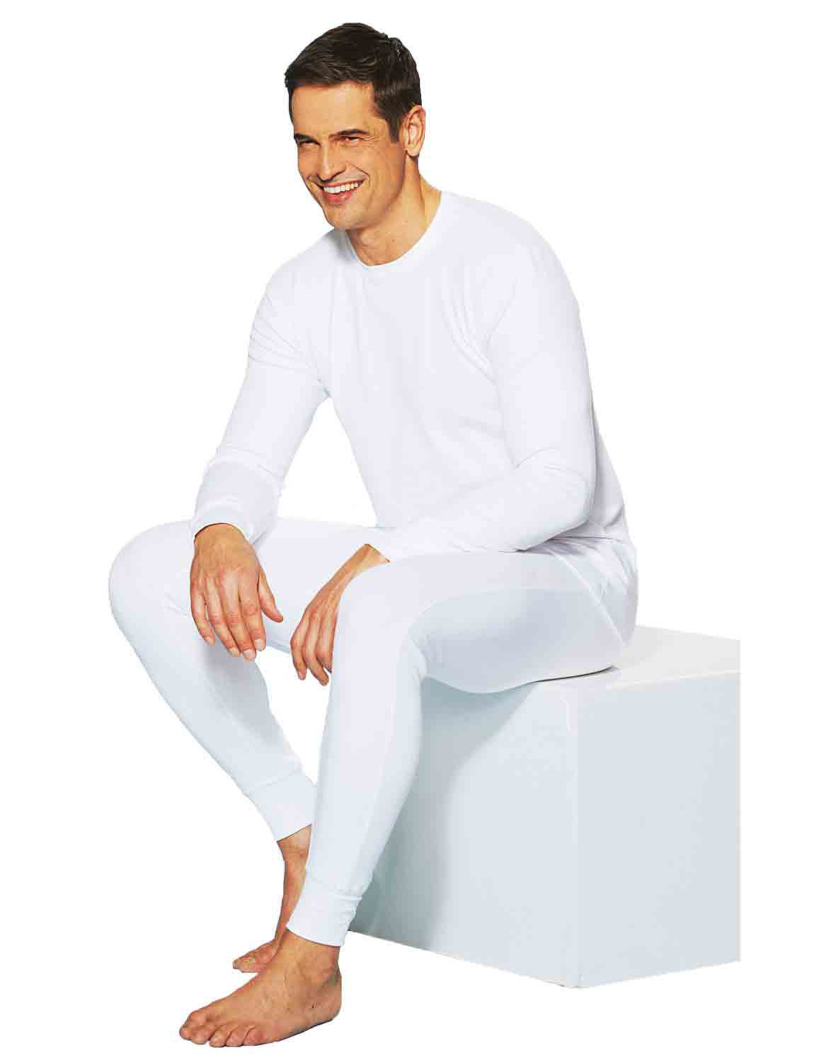 Mens Tootal Thermal Top - White