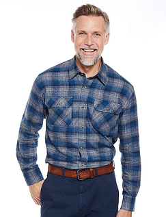 Pegasus Soft Handle Brushed Check Shirt