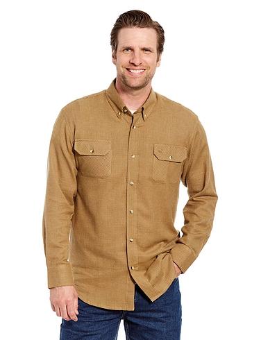 Puppytooth Design Check Shirt