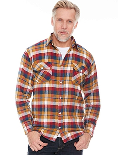 Pegasus Brushed Cotton Check Shirts
