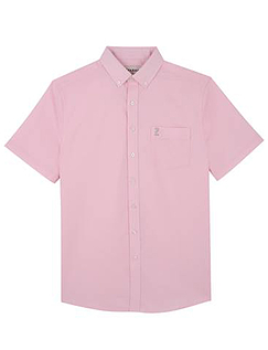 Farah Short Sleeve Shirt With Button Down Collar