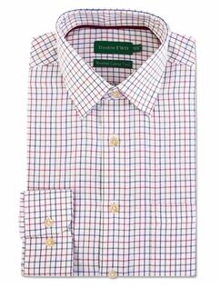 Warm Handle Long Sleeve Check Shirt