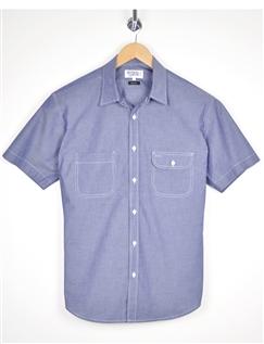Rael Brook Light Weight Chambray Short Sleeve Shirt