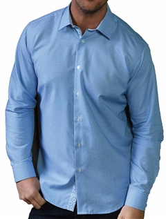 Southern Comfort Long Sleeve Dobby Grid Shirt