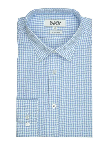 Southern Comfort Long Sleeve Houndstooth Shirt