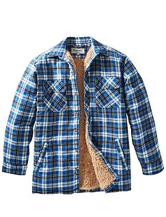 Champion Sherpa Lined Woven Shirt Knitted Lining Pennine