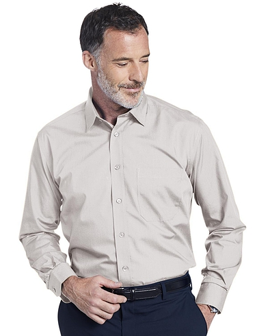 Double Two Non-Iron Long Sleeved Shirt