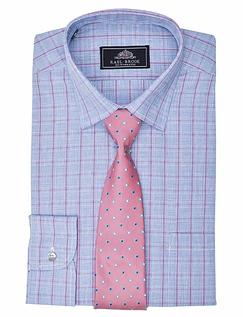 Rael Brook Long Sleeve Shirt & Tie Set