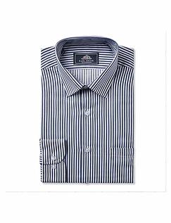 Rael Brook Classic Fit Bengal Stripe Single Cuff Shirt