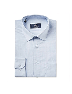 Rael Brook Classic Fit Neat Check Single Cuff Shirt