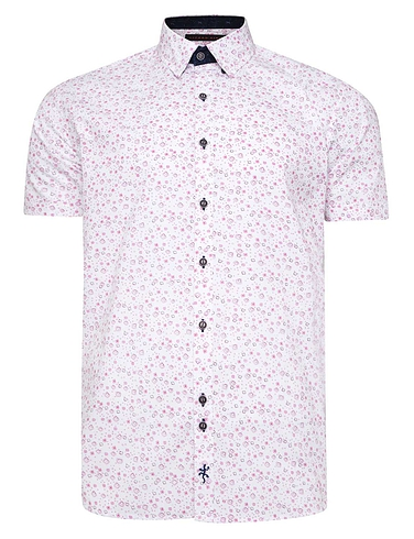 Lizard King Short Sleeve Floral Shirt