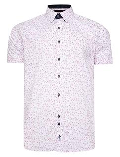 Lizard King Short Sleeve Floral Shirt