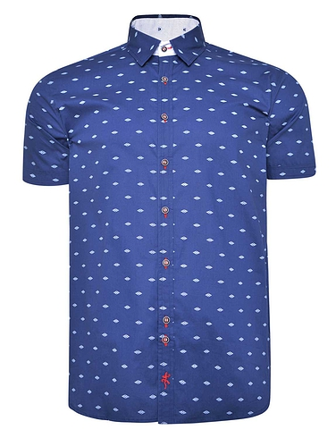 Lizard King Short Sleeve Button Down Collar Shirt