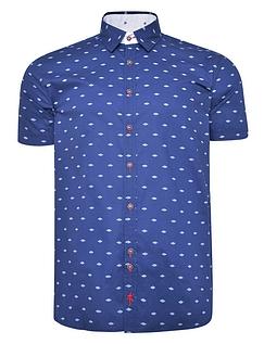 Lizard King Short Sleeve Button Down Collar Shirt