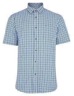 Peter Gribby Short Sleeve Seersucker Shirt