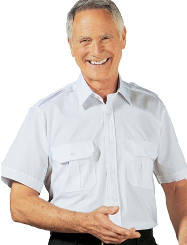 Pack of 2 Short Sleeve Pilot Shirt