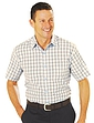 Short Sleeve Tattersall Check