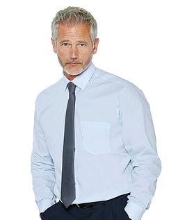 Rael Brook Long Sleeve Shirt And Tie Set - LIGHT BLUE