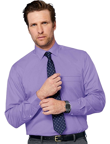 Rael Brook Long Sleeve Shirt And Tie Set
