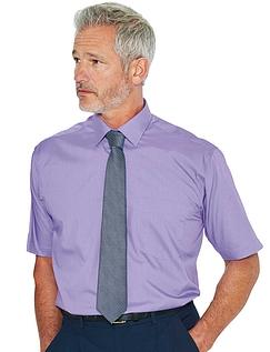 Rael Brook Short Sleeved Shirt And Tie Set - Purple