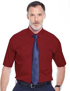 Rael Brook Short Sleeved Shirt And Tie Set - Wine