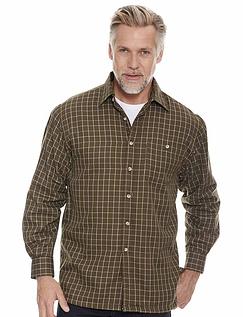 Champion Fleece Lined Shirt - Olive