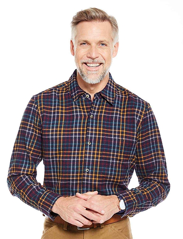 Multi Brushed Check Shirt