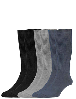 Six-Pack Value Mens Diabetic Socks