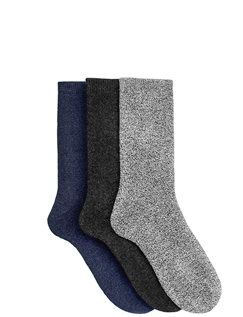 Men's 3 Pack Boot Socks