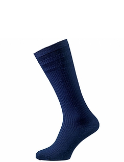 Hj Hall Pack Of 3 Softop Woolrich Calf Length Socks