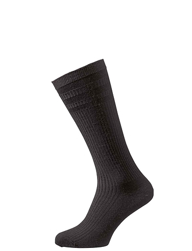 HJ Hall Pack Of 3 Softop Calf Length Socks