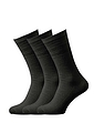 Pack Of 3 Wide Fit Softop Socks