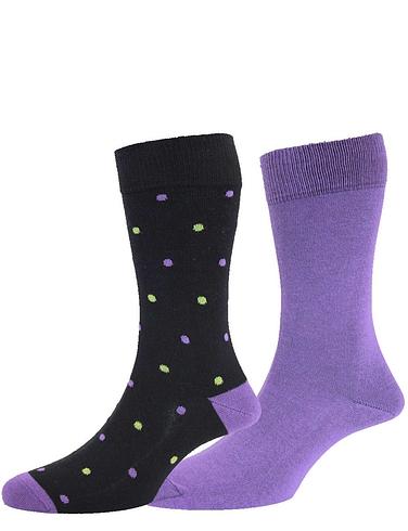 Fancy Sock 2 Packs by HJ Hall