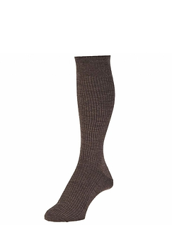 HJ Hall Immaculate Woolrich Long Sock Pack of 2